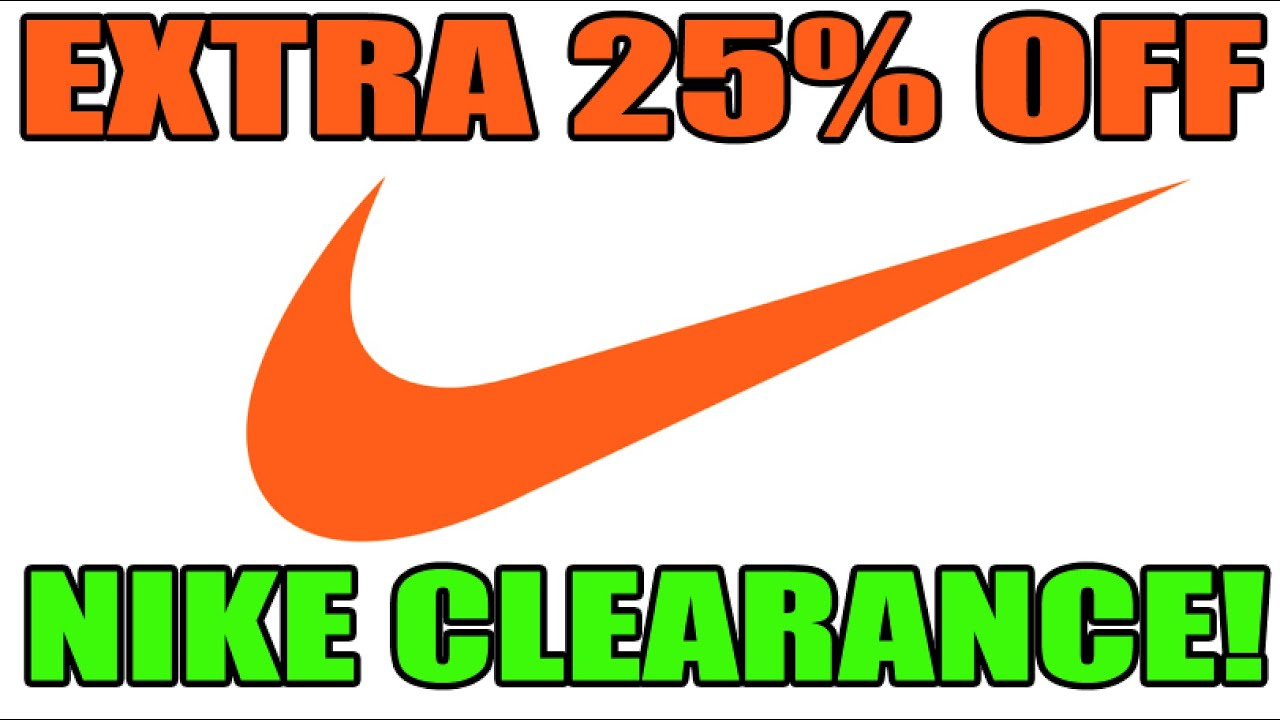 vestir obtener ira  Extra 25% Off Nike Clearance Sale!! + Search Tips & Discount Guide! -  YouTube