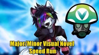 Major/Minor Visual Novel Speed Run WR (Sub 2 hour) - Rev [Vinesauce]