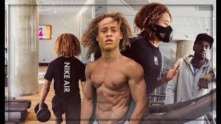 How Xavi Simons Trains to be The Best 💪😍 | GYM & Speed & ABS - Part 1