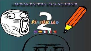 MEJORES MOMENTOS GRACIOSOS EN PINTURILLO 2 EN ESPAÑOL!!| LA MORCILLA DELICIOSA|CON SrEros