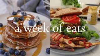 One of cam & nina's most viewed videos: What We Eat In A Week
