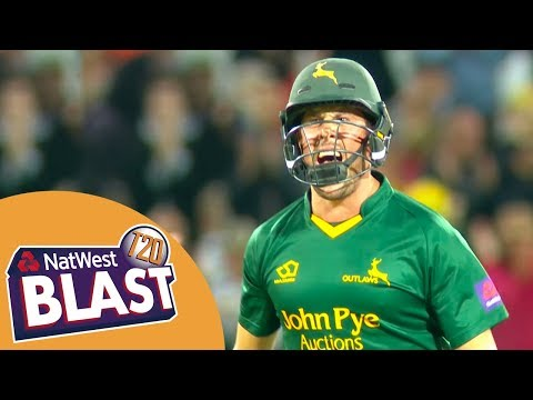 Patel And Christian Turn Game On Its Head - Notts v Somerset NatWest T20 Blast Quarter-Final 2017