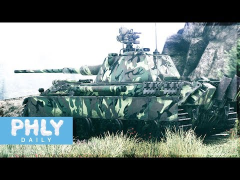 Next Generation Panther Tank | PANTHER II (War Thunder Tanks Gameplay)
