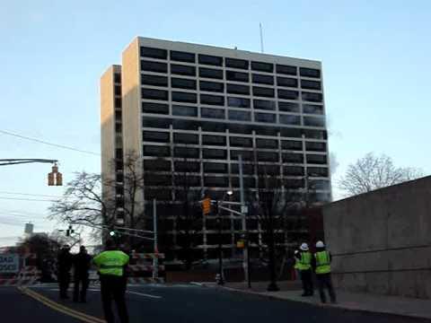 Atlanta Demolition building implosion