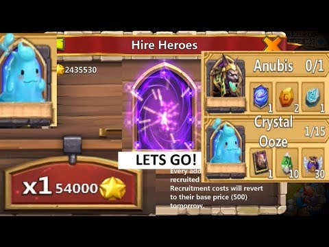 JT's Main LUCKY Hero Collector Crazy Session For The Goods Castle Clash