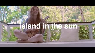 Island In The Sun (one take ukulele cover) Reneé Dominique