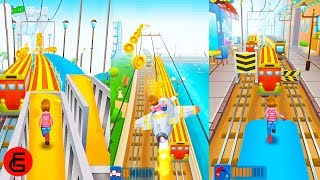 Subway Princess Runner #15 New Update | Android Gameplay | Friction Games