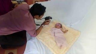 cara memotret bayi lucu baru lahir