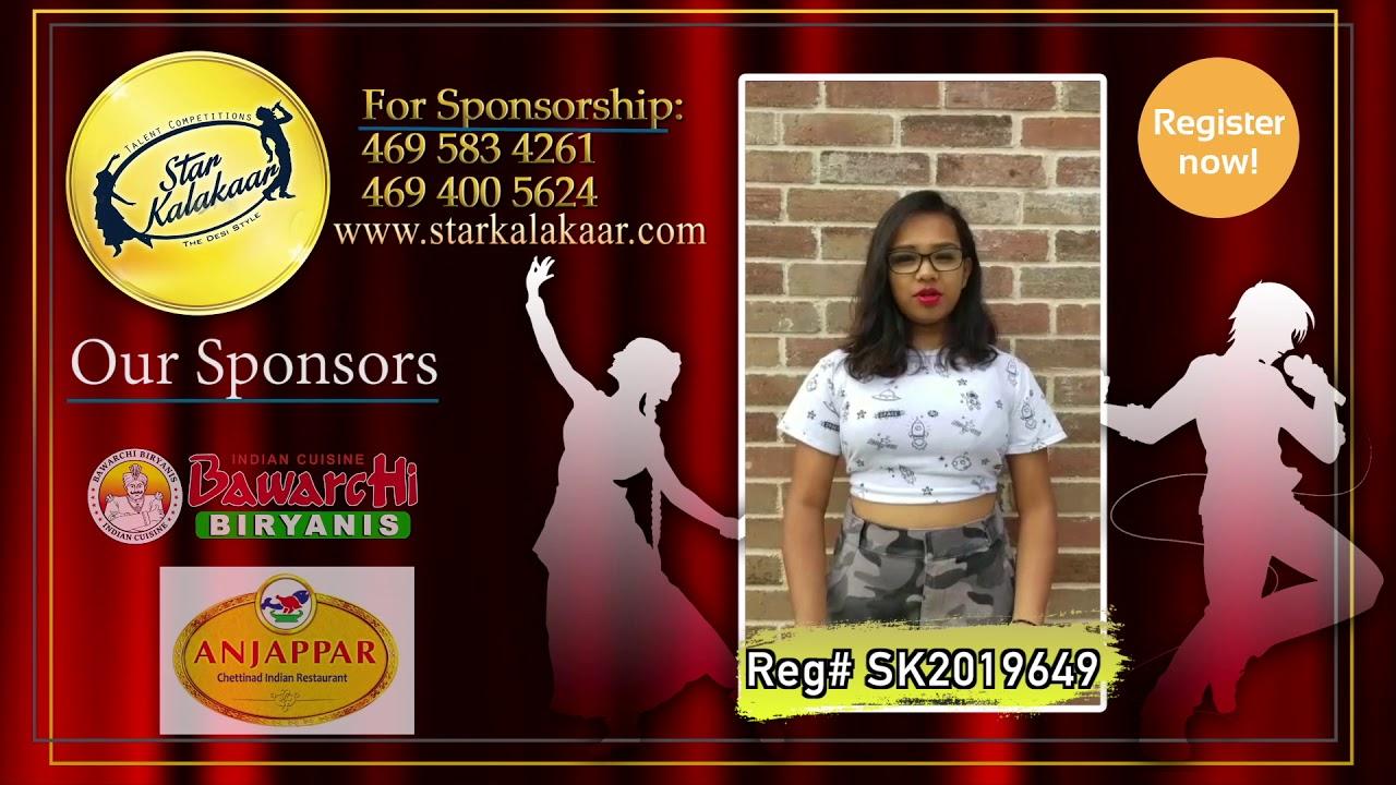 Registration NO - SK2019649 - Introduction Videos StarKalakaar-2019 #SK2019
