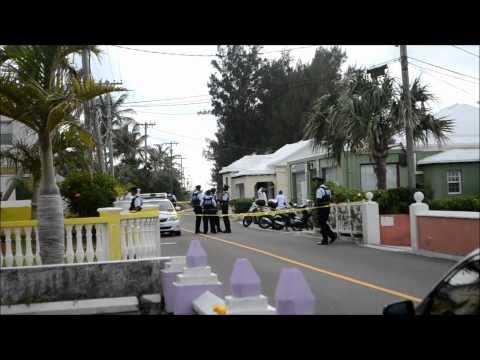 Police On Shooting Scene, June 23 2012