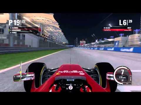 F1 2015 - 2014 Championship - Race 3 - Bahrain (LIVE)