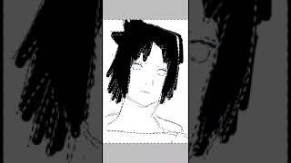 How to draw (Sasuke in 14sec)