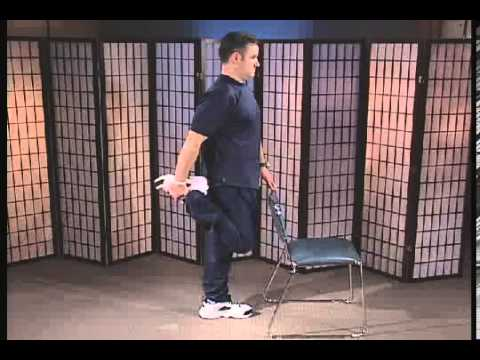 Quadriceps Stretch While Standing