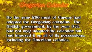 Gregorian Calendar: Facts in Fifty Number 527