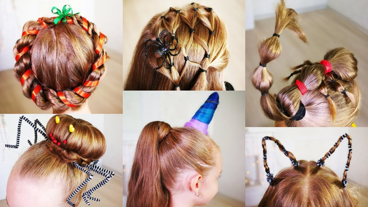 halloween hairstyles for girls! hairstyles for halloween!