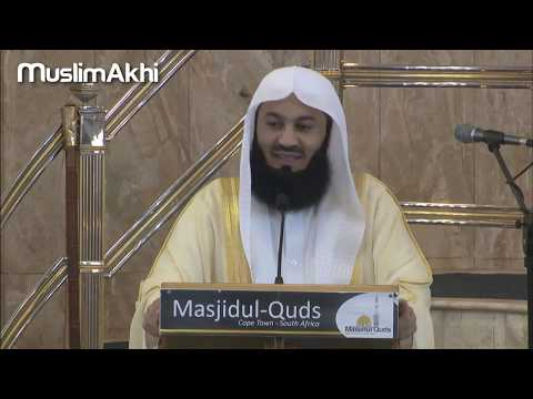 Natural Disasters | The Islamic Response | Mufti Menk | South Africa 2018 thumbnail