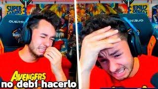 Mato a GREFG en Fortnite mientras está en directo y reacciona así...
