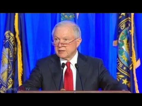 Breaking News:  AG Sessions speech at police convention in Nashville. Aug 28, 2017.