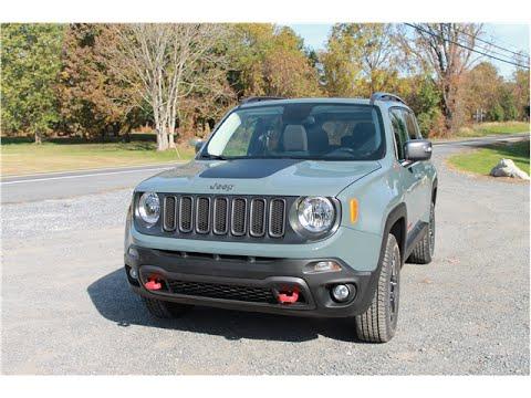 Jeep Renegade 2016 Car Review