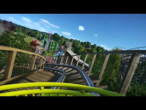 Wooden Warriors - Planet Coaster POV Darkness & Light