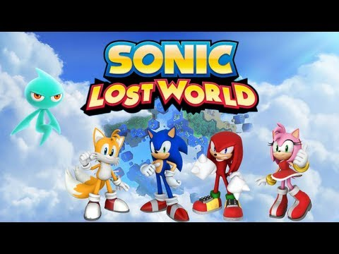 Sonic Lost World - Pictures, Characters, Story and Wisps?!