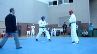 Tong-Il Moo-Do, sparring, Korea 2008