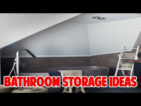 Bathroom Storage Ideas to Help you Clear The Clutter