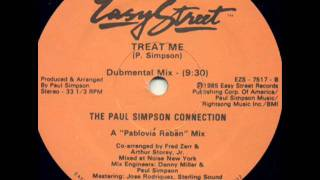 Paul Simpson Connection - Treat Her Sweeter (Dubmental mix)