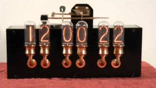 Nixie Clock with Real Westminster Chimes - Ver. 2