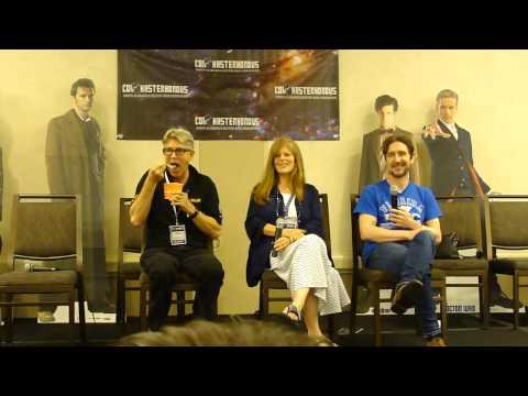 Con Kasterborous 2015  Eric & Eliza Roberts & Paul McGann panel  Part 1 of 2