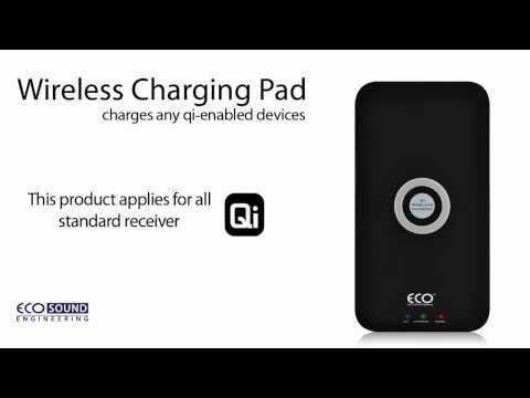 Vit Qi Standard Trådlös Laddare Laddning Sändare Pad För iPhone 6 6s 6plus 7 8 för Samsung Galaxy S 3 4 5 6 Not 3 4