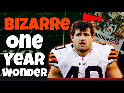Meet the NFL's Most BIZARRE One Year Wonder
