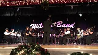 Jingle Bells. Beginning Band. South Miami Middle School Concert. Dec 2018