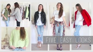 How to Wear Boyfriend Jeans: Style Lookbook