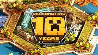 10 Years Of Minecraft