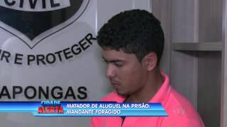 Matador de aluguel é preso; mandante continua foragido
