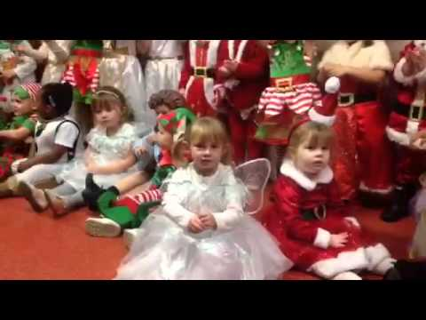 Jessica's Christmas show Xmas pudding song