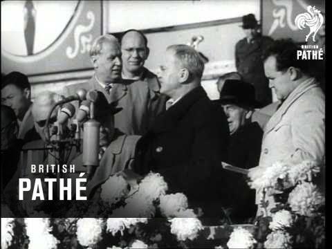 Molotov Visits East Berlin (1954)