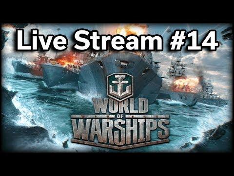 World of Warships - Stream #14 - FREE Premium Ships!