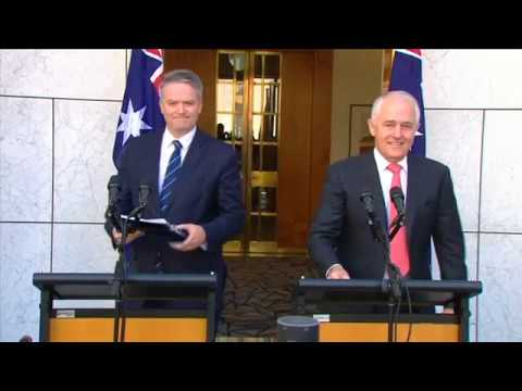 Australian Prime Minister Announces Results of Marriage Law Postal Survey