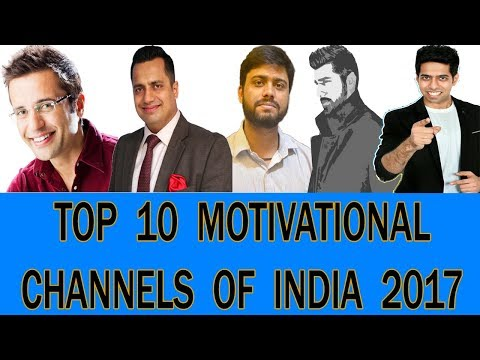 Top 10 Motivational Channels Of YouTube India 2017 | Sandeep Maheshwari, vivek bindra, Seeken Etc