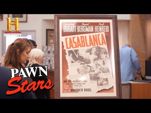"Pawn Stars: ""Casablanca"" Movie Poster (Season 15) 