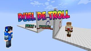 BATTLE DE TROLL feat : _yorru_ | Minecraft Mini-Games