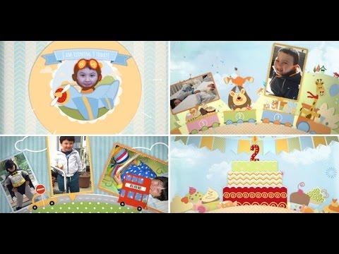 birthday-after-effects-template---children-memory-album-and-birthday-invitation-boy-version