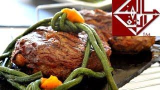 ريش بقري مشوية  Grilled rib eye( Steak)
