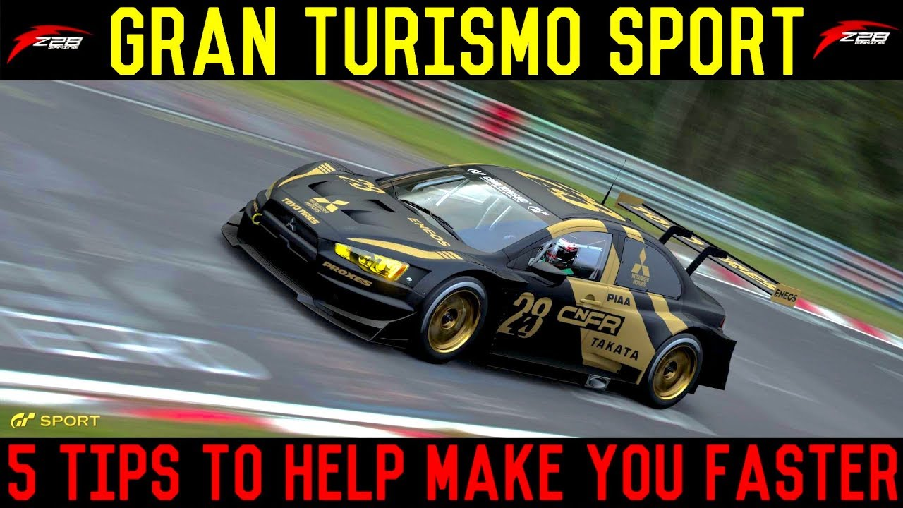 5 Tips to Help Make You Faster in Gran Turismo Sport thumbnail