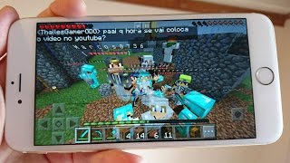 Minecraft PE - SERVIDOR DOS INSCRITOS NO MINECRAFT POCKET EDITION