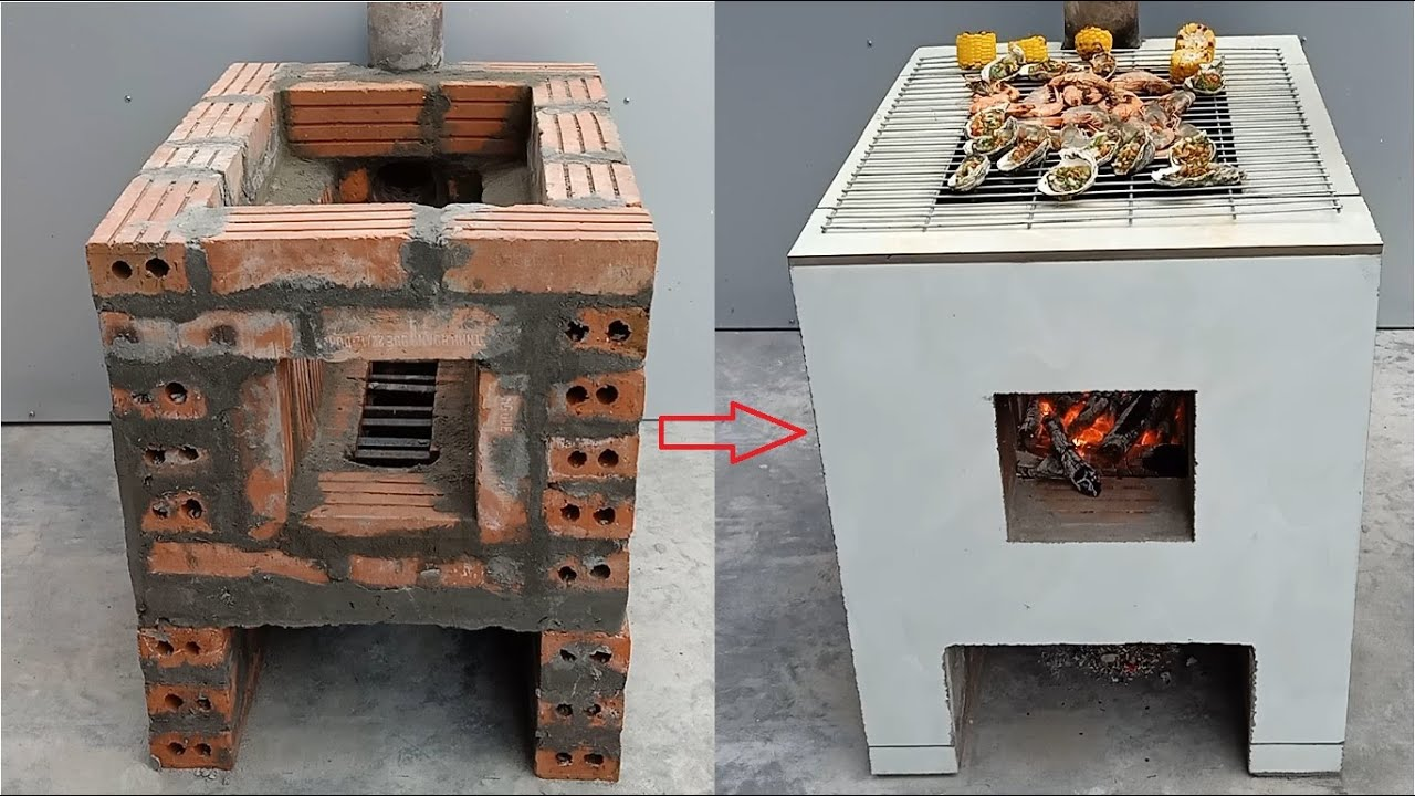 Download How to build a multi purpose oven with cement and brick at home