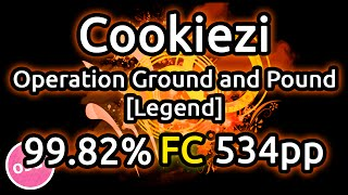 Cookiezi | DragonForce - Operation Ground and Pound [Legend] | 99.82% FC 534pp | Liveplay