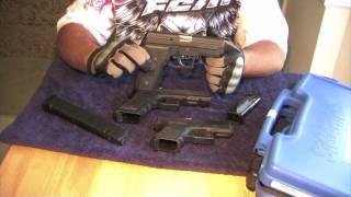 Sig Sauer P229 comparacion con la pistola Glock Version Español